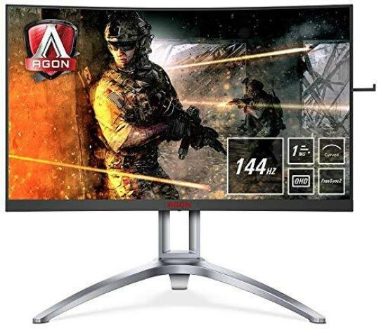 Monitor LED Aoc AG273QCX WQHD Black